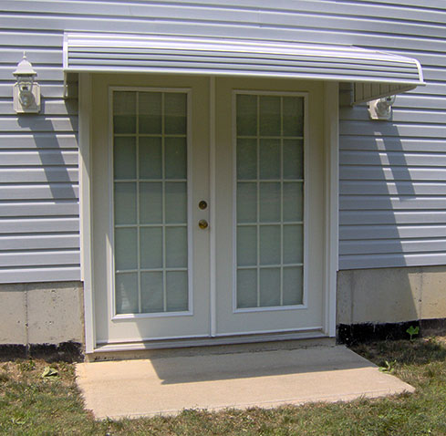 Call Us For Great Looking, Affordable Aluminum Awnings For Doors And Windows