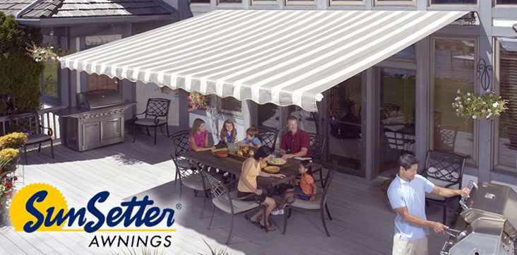 Sunsetter Awnings Pro Exterior Awnings Cape Cod Southeastern Ma