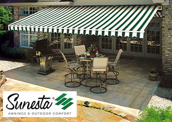 Retractable Awnings O Sunsetter Awings Sunesta